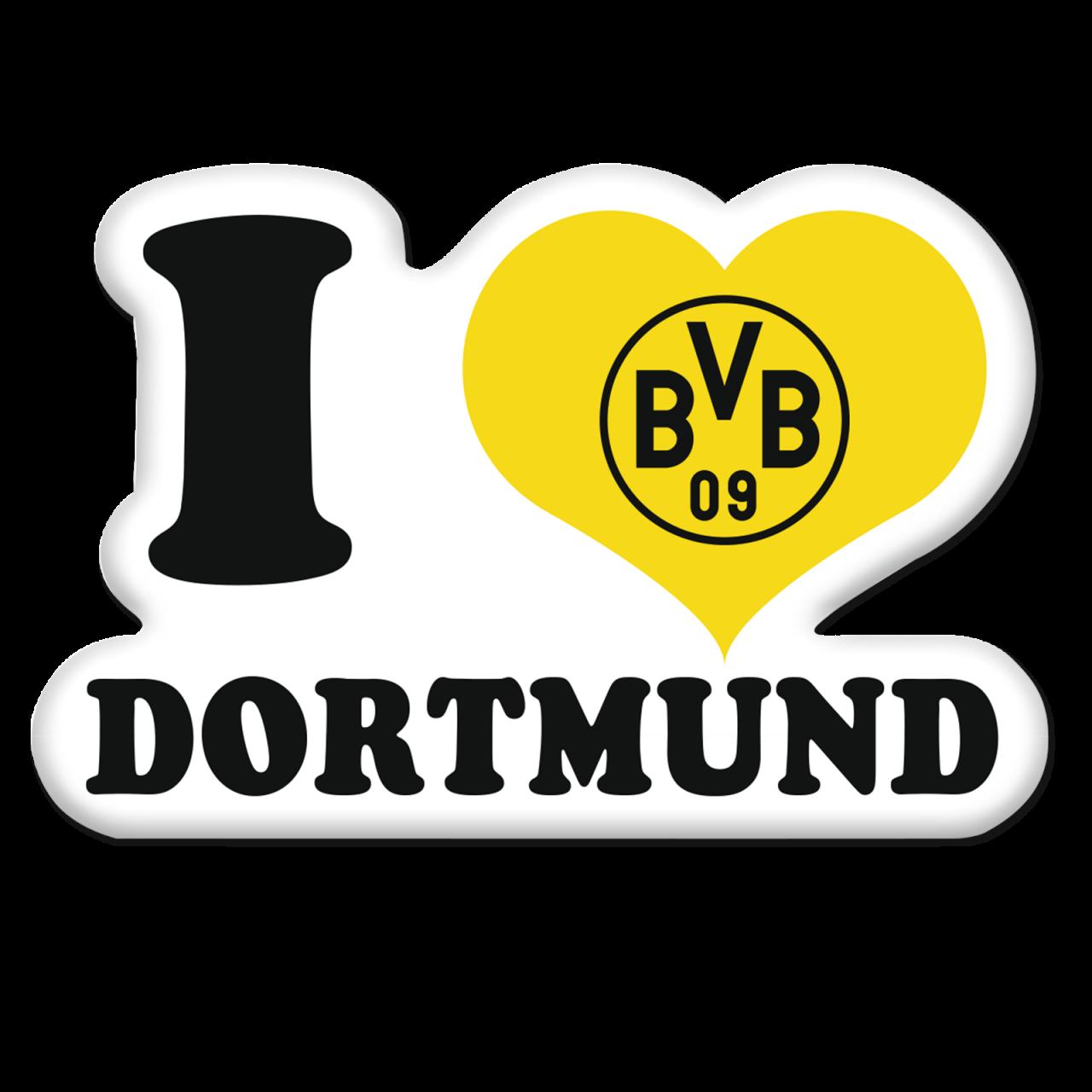 I love Dortmund-Aufkleber