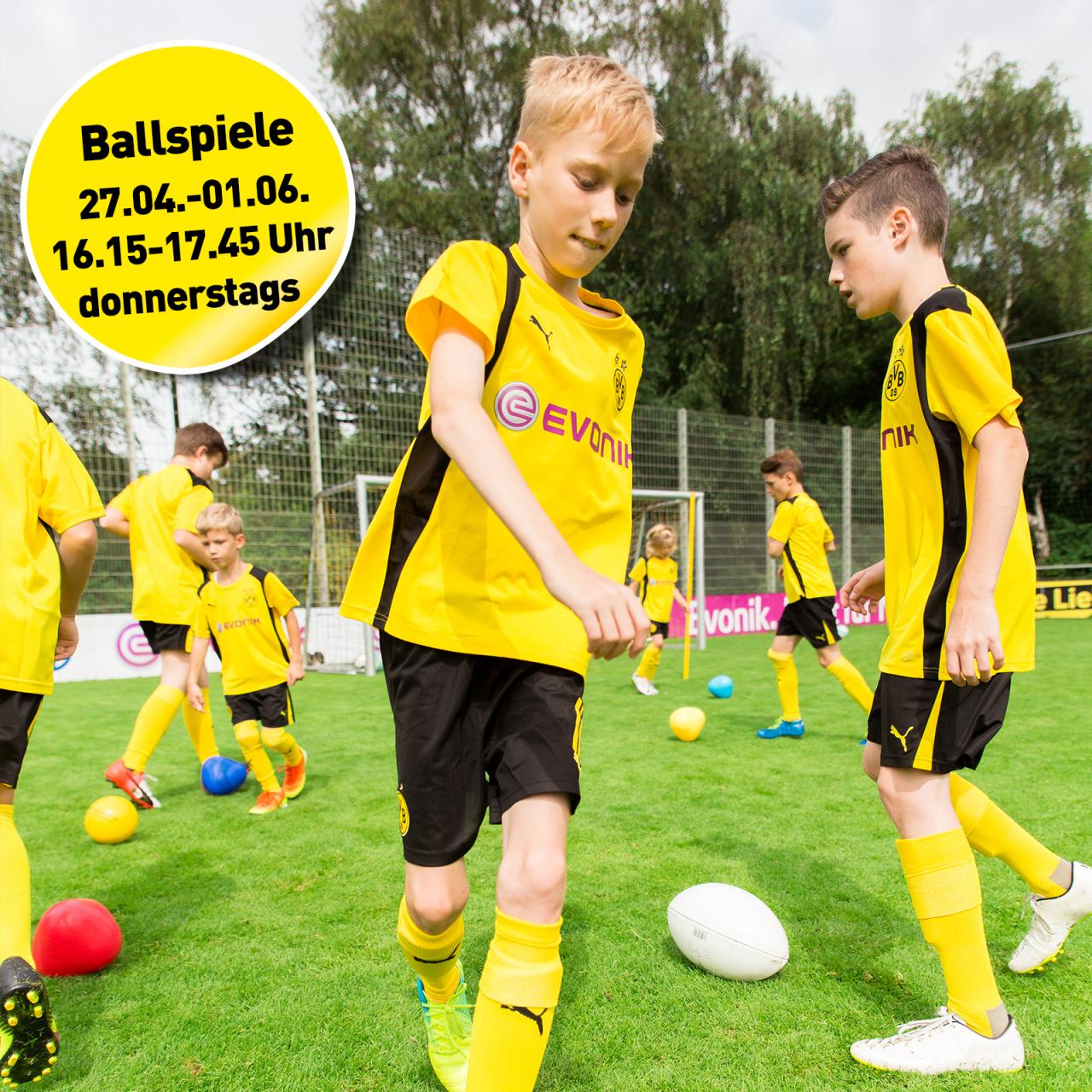 Förderkurs Ballspiele (2010/2011)