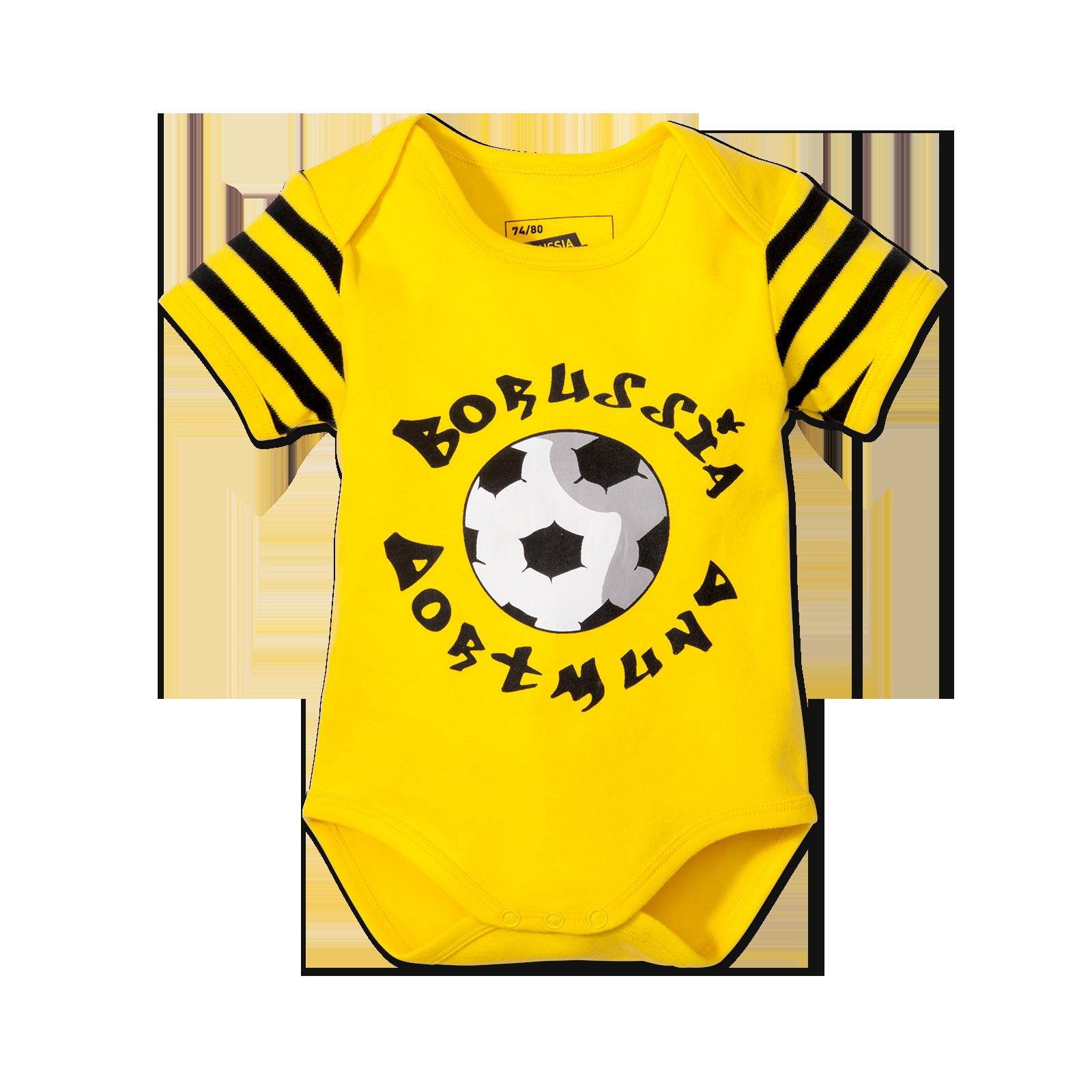 bvb body f r babies 2er set baby kinder offizieller bvb online fanshop. Black Bedroom Furniture Sets. Home Design Ideas