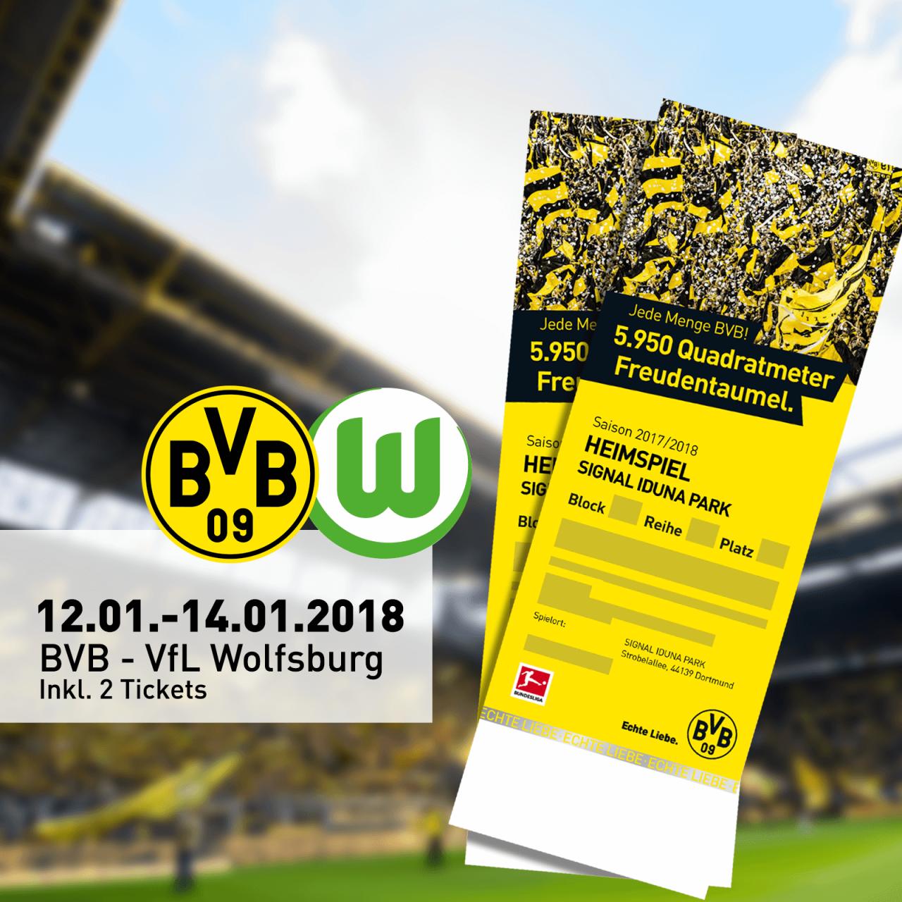 Spieltagskurs Wolfsburg 2 Tickets