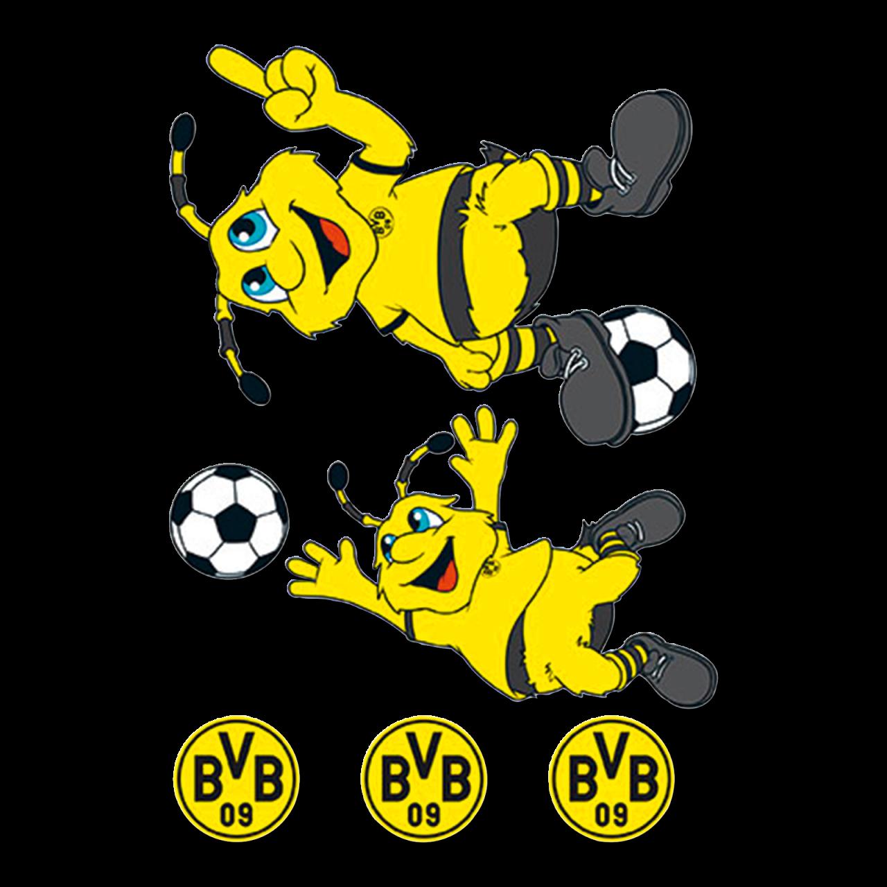 BVB-EMMA Wandsticker-Set (6-teilig)