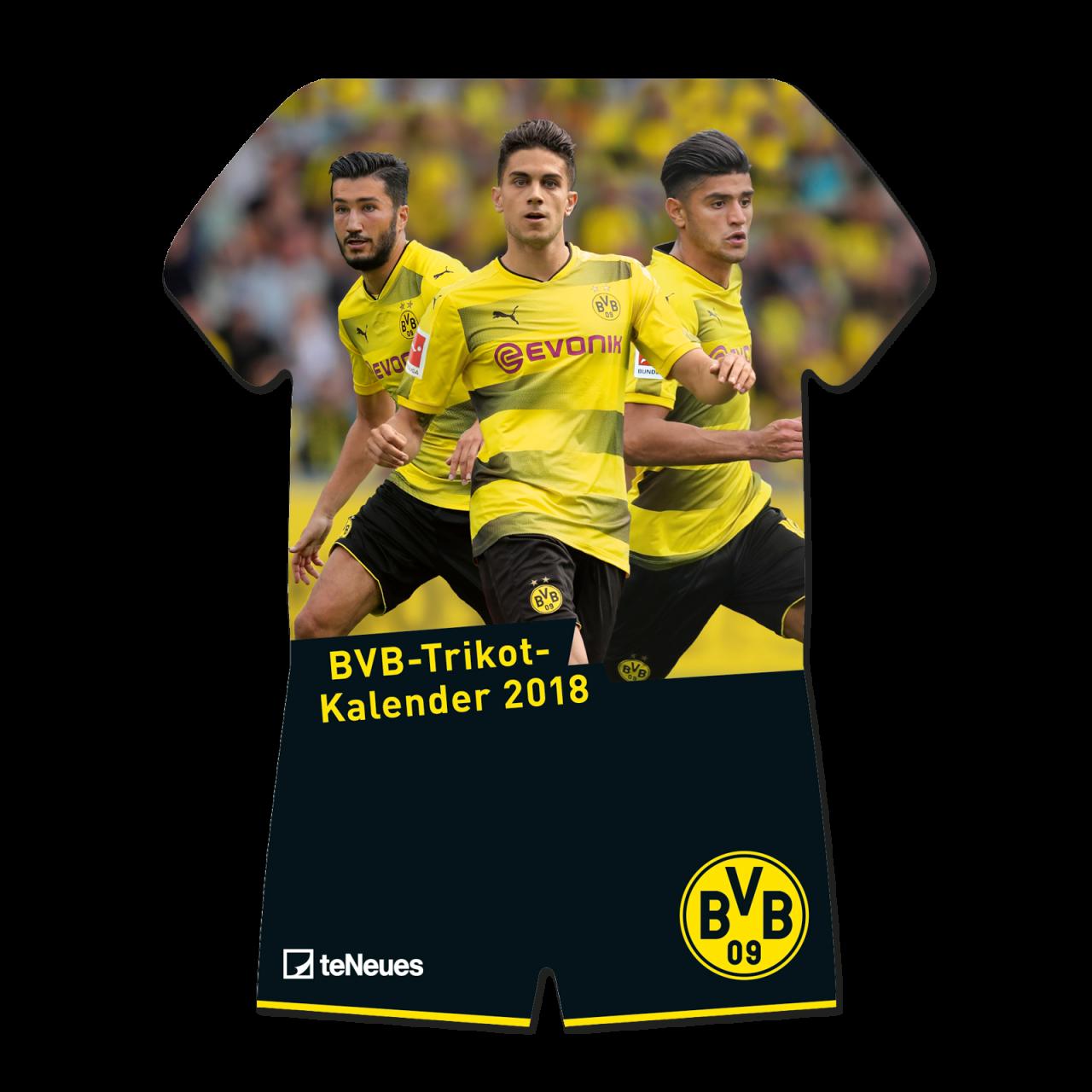 BVB-Trikotkalender 2018