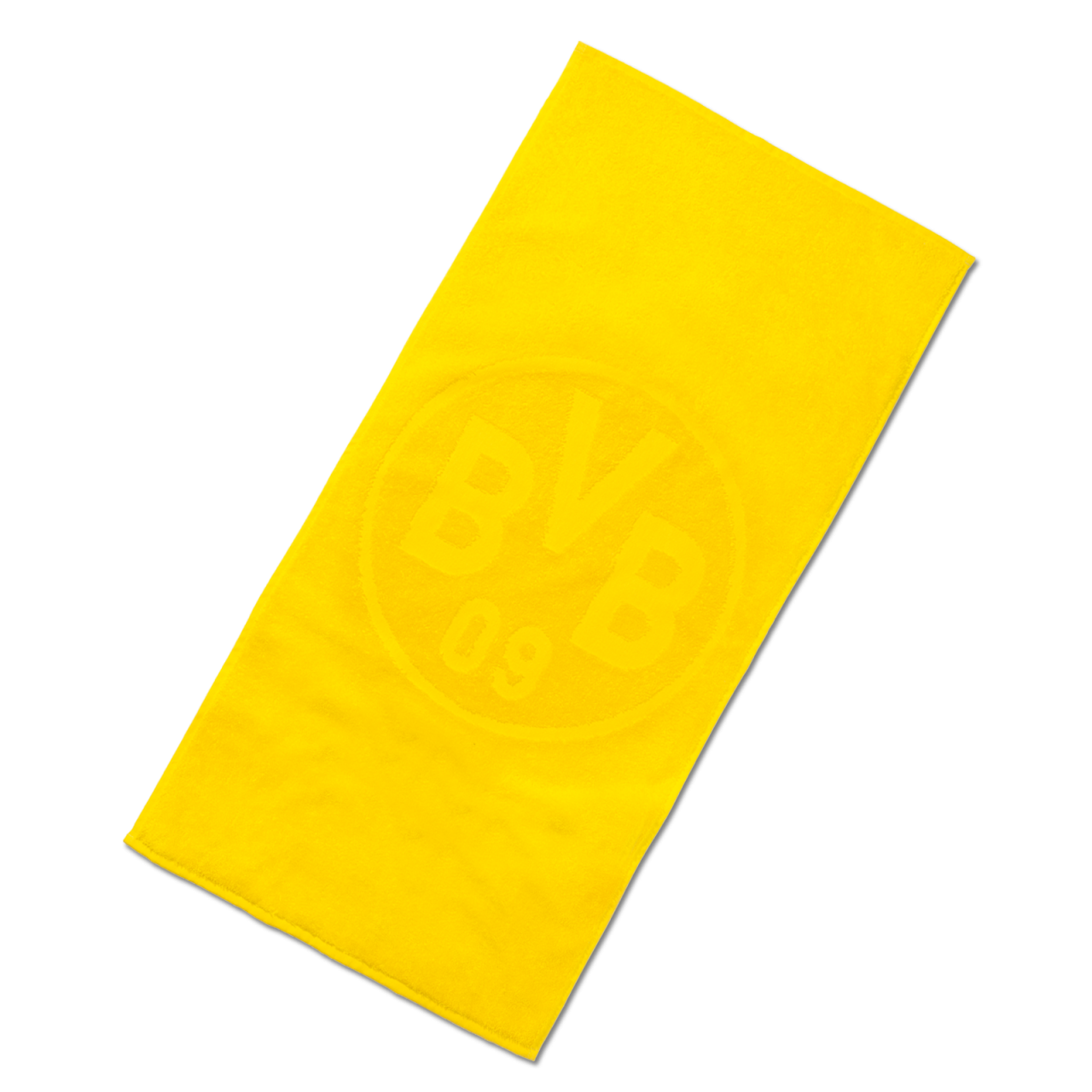 BVB-Badetuch Emblem gelb 70x180cm